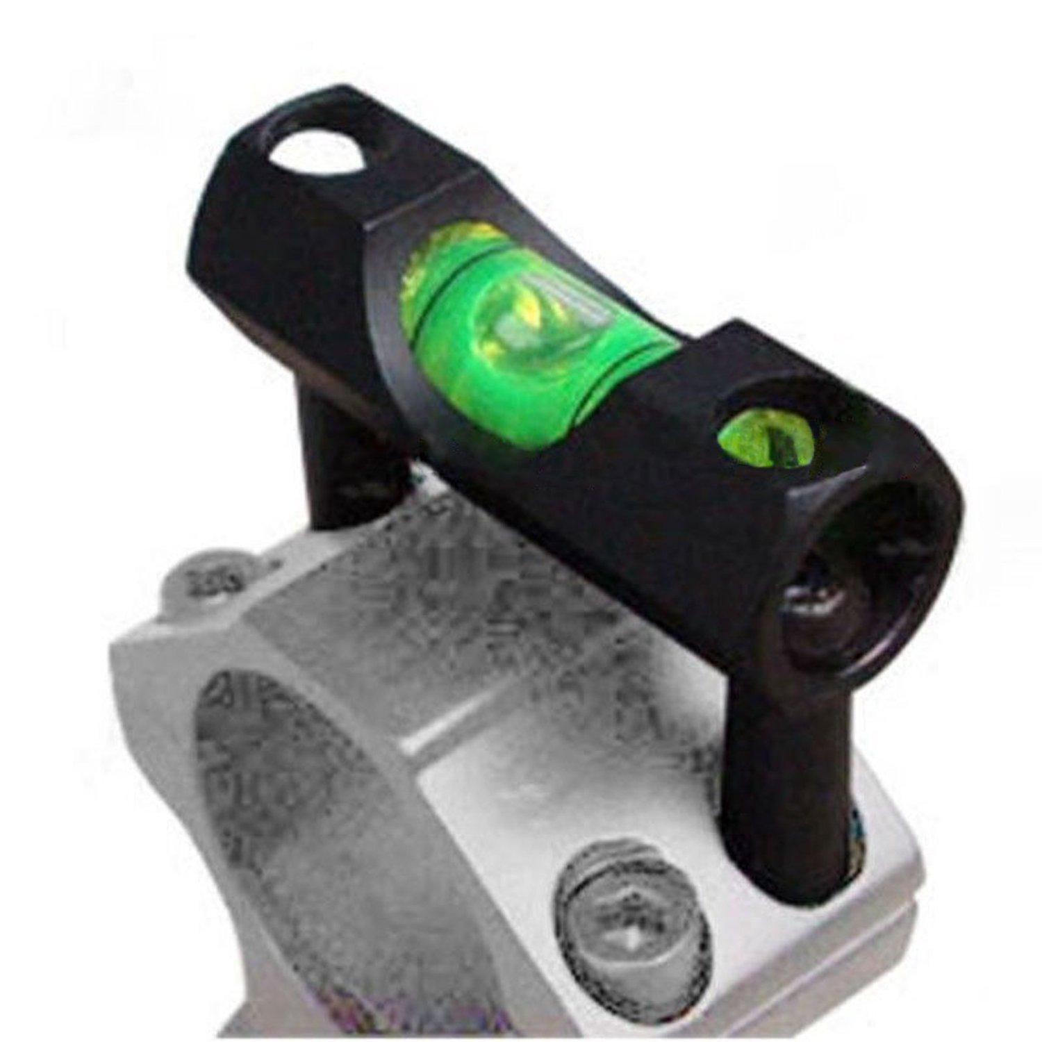 H World Shopping Tactical Alloy Bubble Spirit Level For 25.4mm/1 Rifle Scope Laser Sight Ring Mount Holder