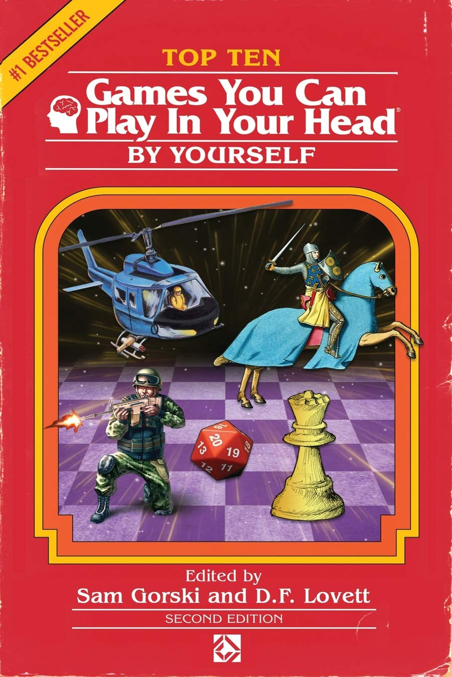 Top 10 Games You Can Play In Your Head, By Yourself: Second Edition por J. Theophrastus Bartholomew