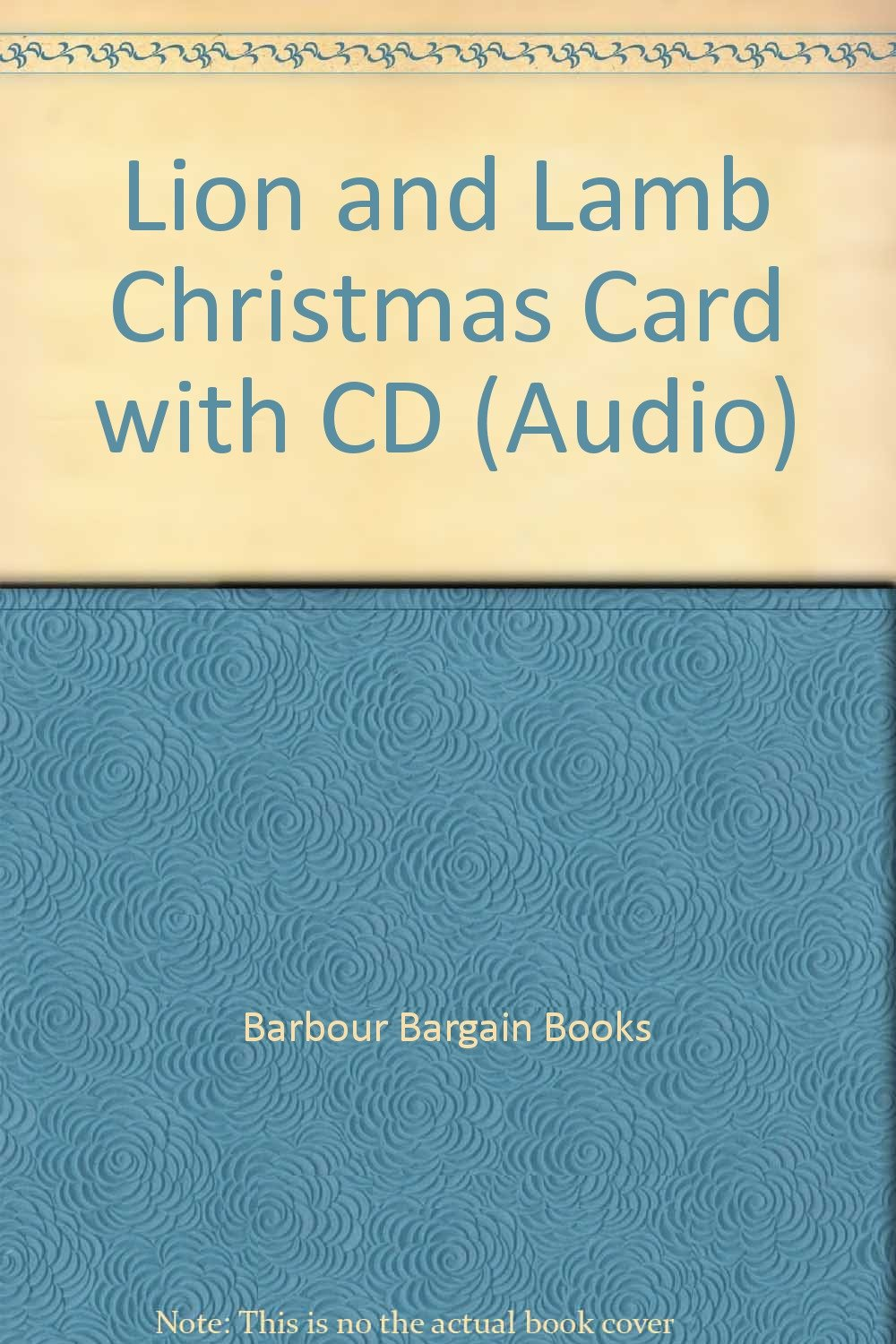 Lion and Lamb Christmas Card with CD (Audio): Barbour Bargain Books ...
