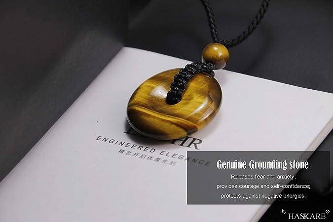 Sedona Natural Stone Pendant Natural Stone Horn Pendant Necklace Tiger Eye Horn Pendant Gold Necklace Gifts Under 30