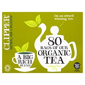 861425993da Amazon.com : Clipper Teas - Everydays - Organic Tea - 80 Bags (Case ...