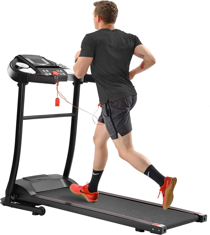 Merax Easy Assembly Folding Treadmill Motorized Running Jogging Machine