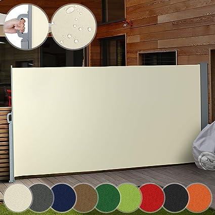 bestbewertetes Original Wählen Sie für echte Beste Ausziehbare Seitenmarkise für Balkon Terrasse Garten -  Farbauswahl/Größenauswahl 160x300cm 180x300cm 200x300cm - Windschutz,  Sichtschutz, ...