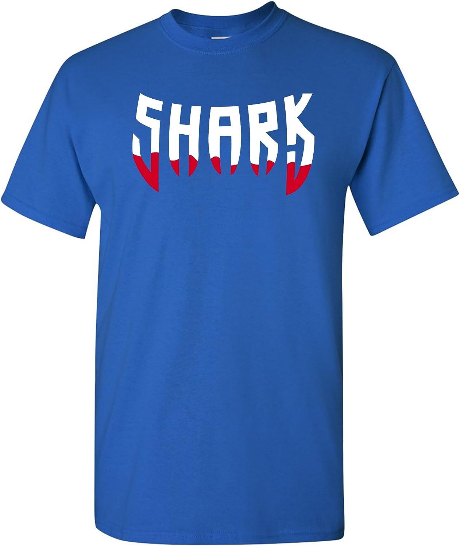 Shark Teeth - Shark Ocean Beach Hammerhead Great White T Shirt