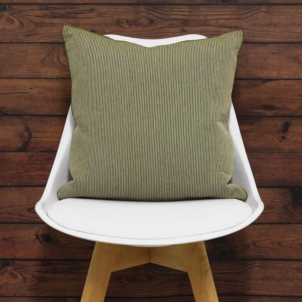 Polyester 45x45cm Riva Paoletti Frenchie C//Case 45X45 Lime Limette