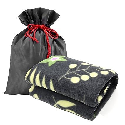 Amazoncom Forestfish Fleece Throw Blanket Cozy Soft Portable
