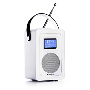 Steljes Audio SA60 Radio Internet Altavoz Bluetooth, Radio Dab con WiFi Portatiles Dab + Dab