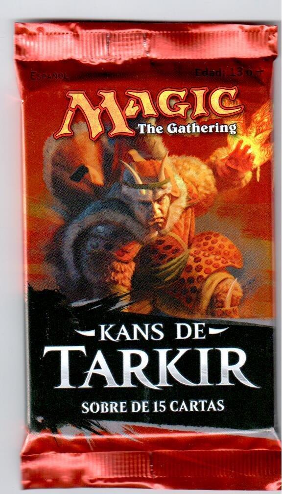 MAGIC THE GATHERING SOBRE 15 CARTAS KANS DE TARKIR ESPAÑOL ...