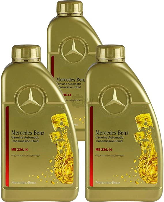 3x 1 Liter Original Mercedes Benz Atf Getriebeöl Mb 236 14 Auto