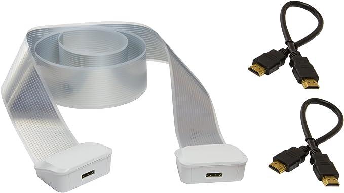 Labs Wiretape C-520-03 - Pack HDMI, 2 latiguillos, 2 conectores ...