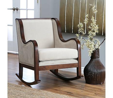 Awe Inspiring Amazon Com Modern Rocking Chair Indoor Rocking Chair Ibusinesslaw Wood Chair Design Ideas Ibusinesslaworg