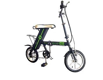 Helliot Bikes Neo Bicicleta Eléctrica, Unisex Adulto, Verde (Neon), Talla Única