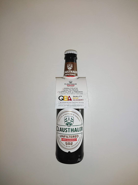 24 botellas de cerveza sin alcohol Clausthaler sin filtrar