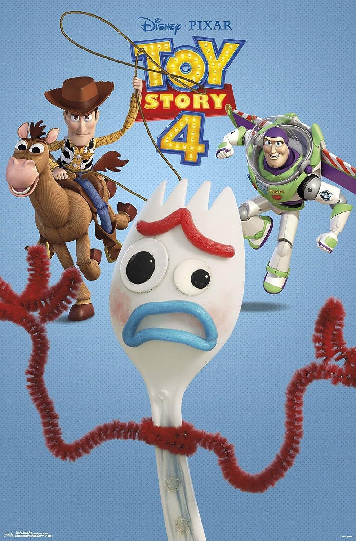 "Trends International Disney Pixar Toy Story 4 - Trio, 22.375"" x 34"", Unframed Version"