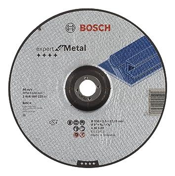 Fantastisch Bosch 2608600225 Schleifzubehör Trennscheibe 230 x 2,5 mm f.Metall  BC75