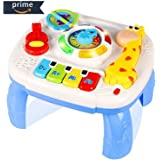 HOMOFY Baby Toys Musical Learning Table 6 Months up Early Education Activity Center Multiple Modes Game Kids Toddler Boys and Girls 1,2,3, Years Old New Gifts