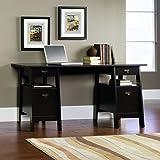 Sauder Executive Trestle Desk, Jamocha Wood Finish