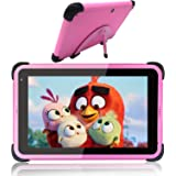Kids Tablets 7 Inch 32GB Storage 2GB RAM Android 10 Tablets for Kids Learning Tablet IPS HD Display WiFi Tablet for Girls, Pi