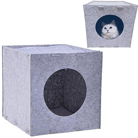Cama de gatos casa cueva para gatos mascotas muy Cómodo y Bonitas Materiales de alta calidad