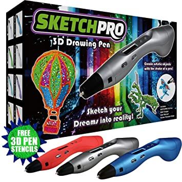 LATEST EDITION 3D Pen Kit   3D Printing Pen, Kid Gift W/ LED Screen