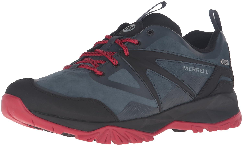 Merrell Herren Capra Bolt Leder Waterproof Wandern Schuhe