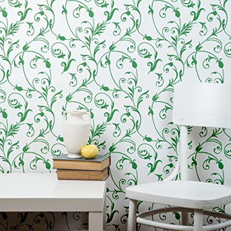 J Boutique Stencils Large Floral Wall Stencil Diy Wall
