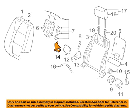Fabulous Amazon Com Volkswagen Vw Oem 10 14 Jetta Front Seat End Cap Right Wiring 101 Capemaxxcnl