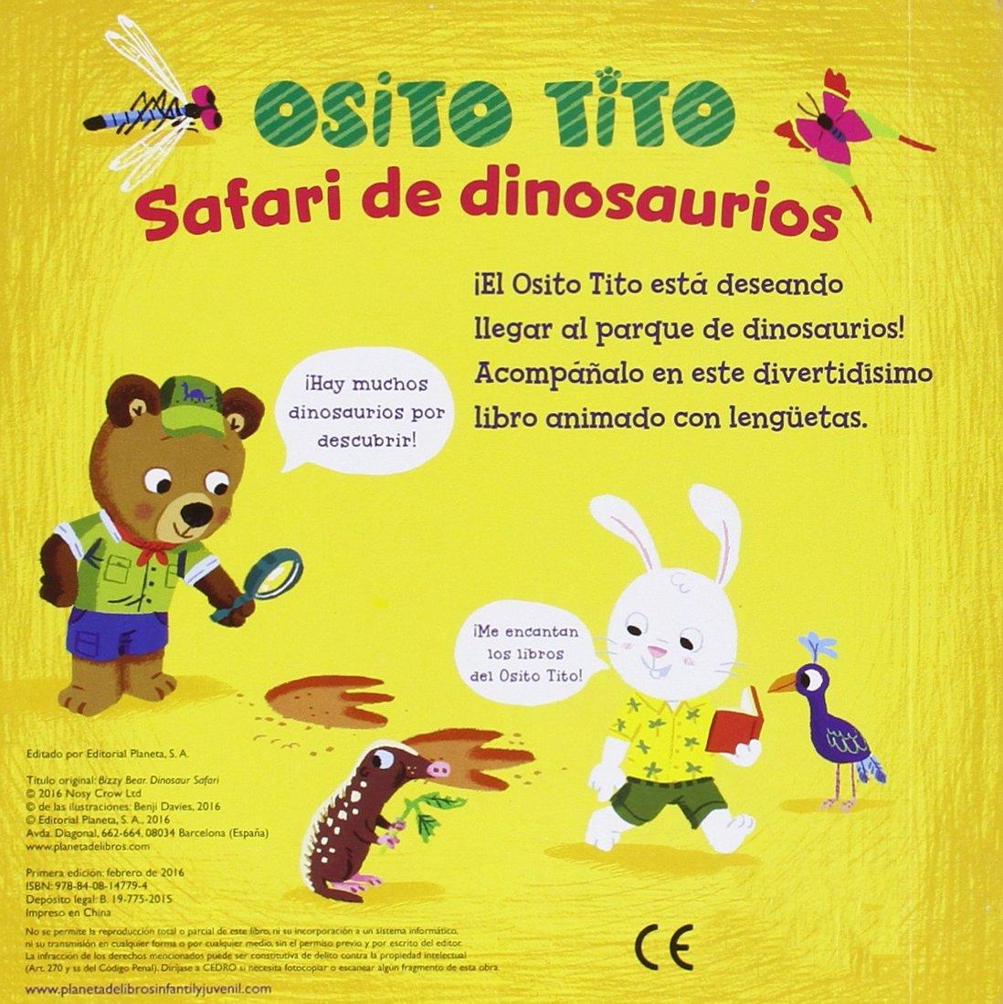 Osito Tito. Safari de dinosaurios: Amazon.es: Davies, Benji ...