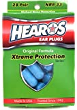 Hearos (ヒーローズ)イヤープラグ(耳栓)Xtreme Protection エクストリーム プロテクション 遮音性の高い耳栓 28ペア [並行輸入品]