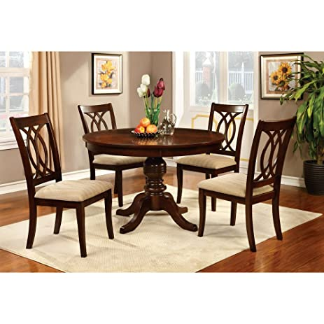 Nice Furniture Of America Frescina Round Dining Table