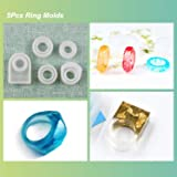 LET'S RESIN Resin Jewelry Molds,30pcs Silicone