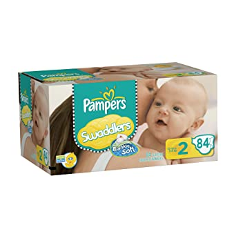 968db12296a6 Pampers Swaddlers Diapers Big Pack Size 2 84 Count