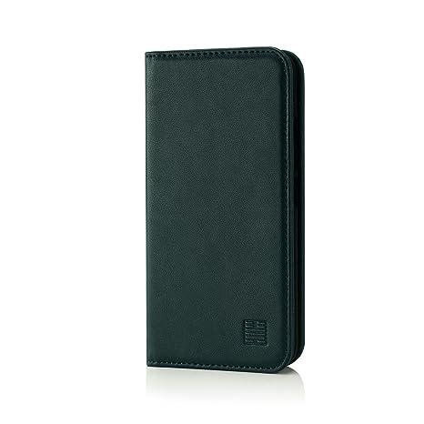 32nd Classic Series - Funda Tipo Libro de Piel Real para Motorola Moto G5 Plus, Carcasa de Cuero Premium diseñada con Cartera, Cierre Magnetico y ...