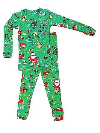 Amazon.com  Books to Bed How to Catch Santa Pajama Set  Clothing c32c6972f