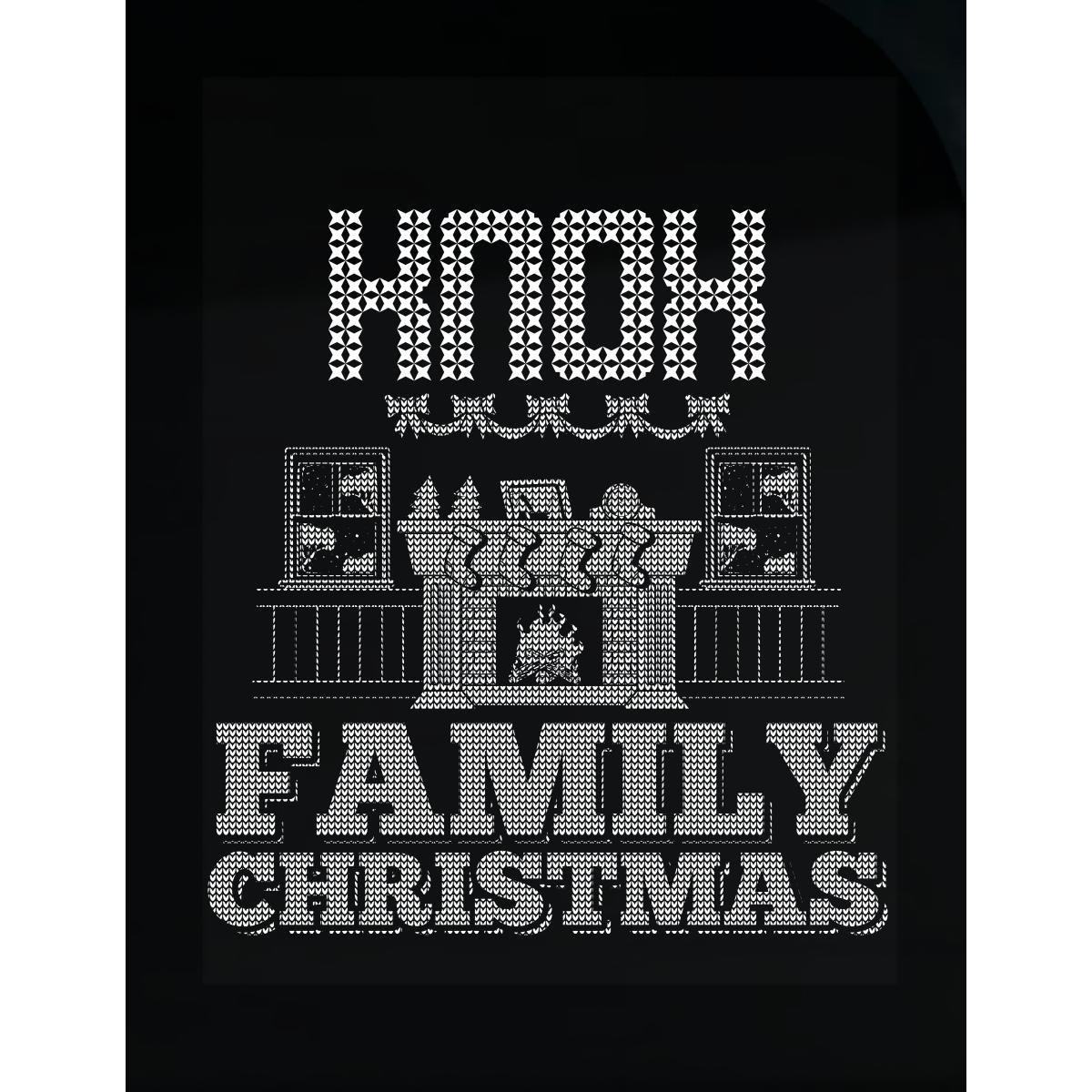 Amazon com knox family christmas sticker home kitchen