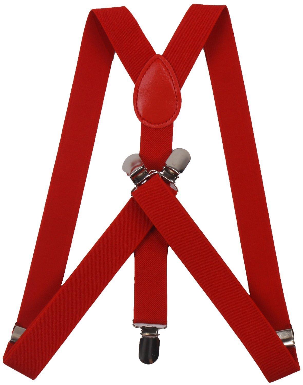 ORSKY Men's Adjustable Suspenders Y Back Elastic ORSKYNB70040