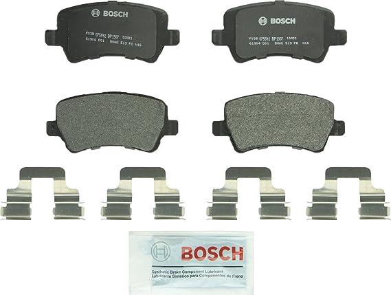 Bosch BP1307 QuietCast Premium Semi-Metallic Disc Brake Pad Set For: Land Rover Range Rover Evoque; Volvo S60