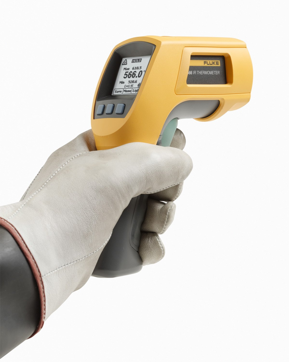 Fluke 566  Dual Infrared Thermometer, -40 to +1202 Degree F Range, Contact/Non Contact by Fluke (Image #3)