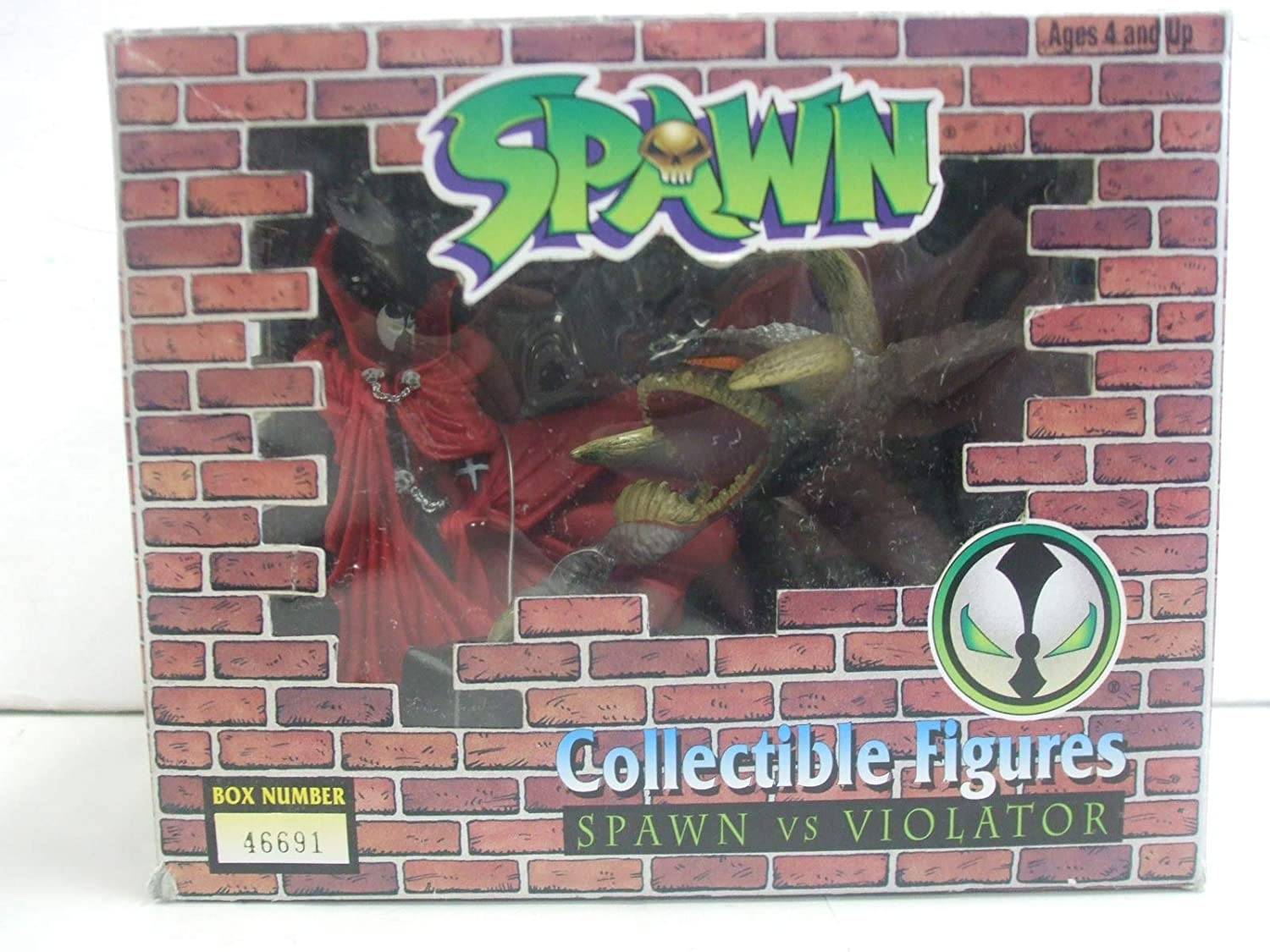 Spawn Vs Violator Todd Toys Collectible Figures Special Limited Run Spawn /& Violator Numbered Box Set