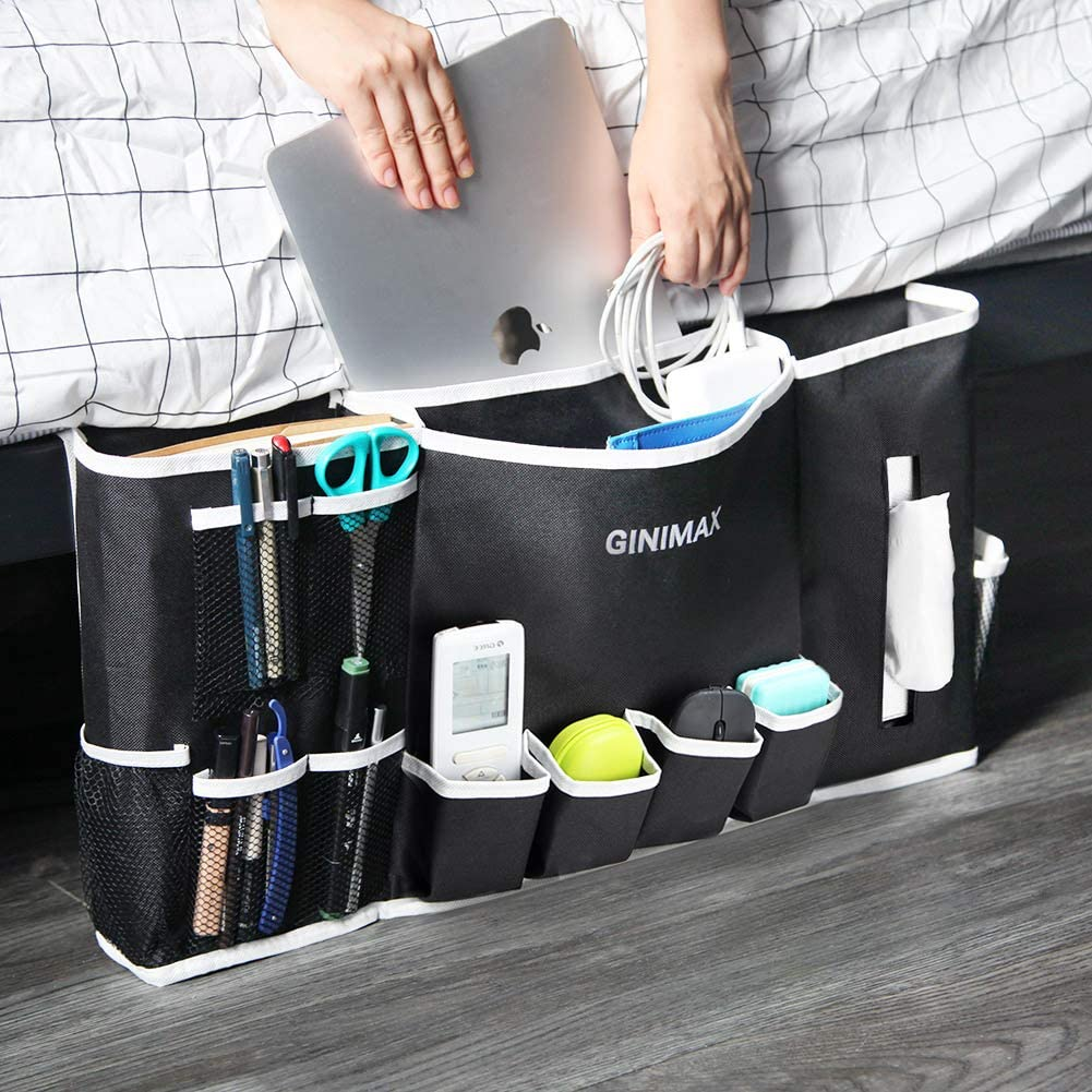 GINIMAX Dorm Room Essentials - Bedside Caddy | Large Size 23