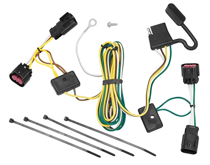 71WkcWvkTSL._SX681_ amazon com reese towpower 78066 t connector automotive curt 56584 custom wiring harness at panicattacktreatment.co