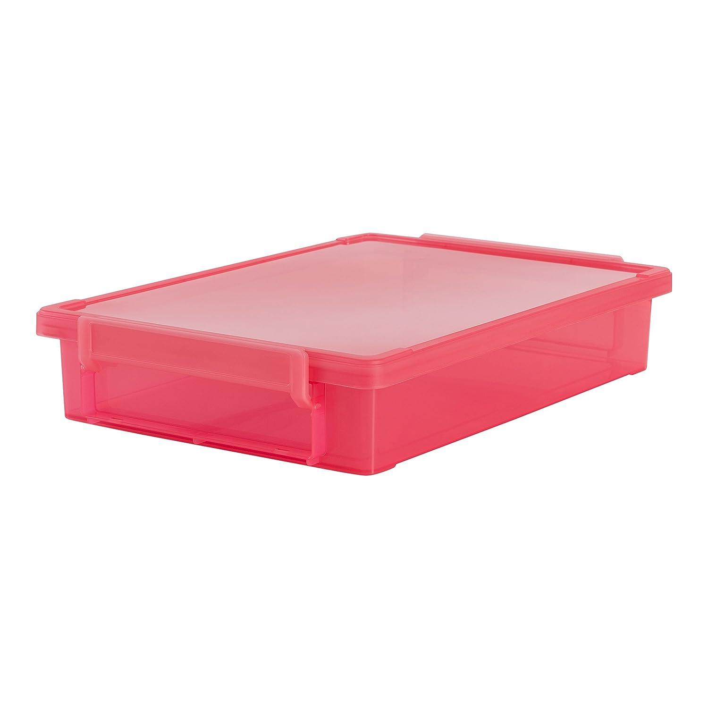 IRIS LLB de A4/Die kleine grandes caja A4/ pl/ástico 36.5 x 25 x 7 cm Juego de 3 gris