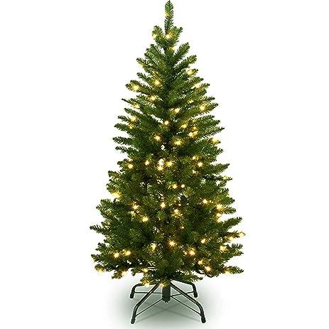 6 ft christmas tree w 240 led lights 6 foot xmas tree w