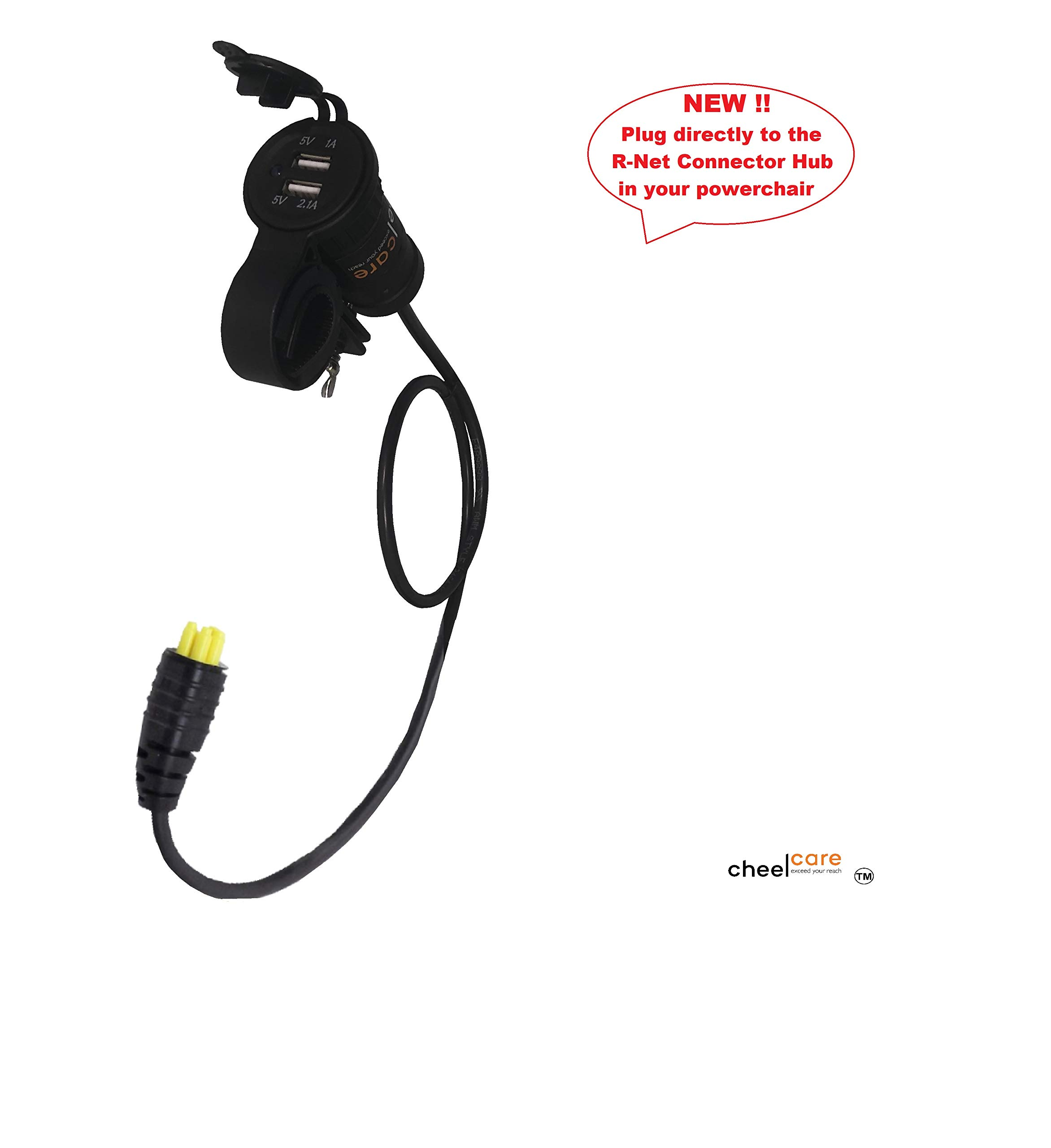 R-NET USB Adaptor for Power Wheelchair by Cheelcare
