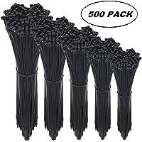 Cable Ties Cable Tie Wraps Zip Ties Colour:black Size:140 mm x 2.5 mm 50pcs CL