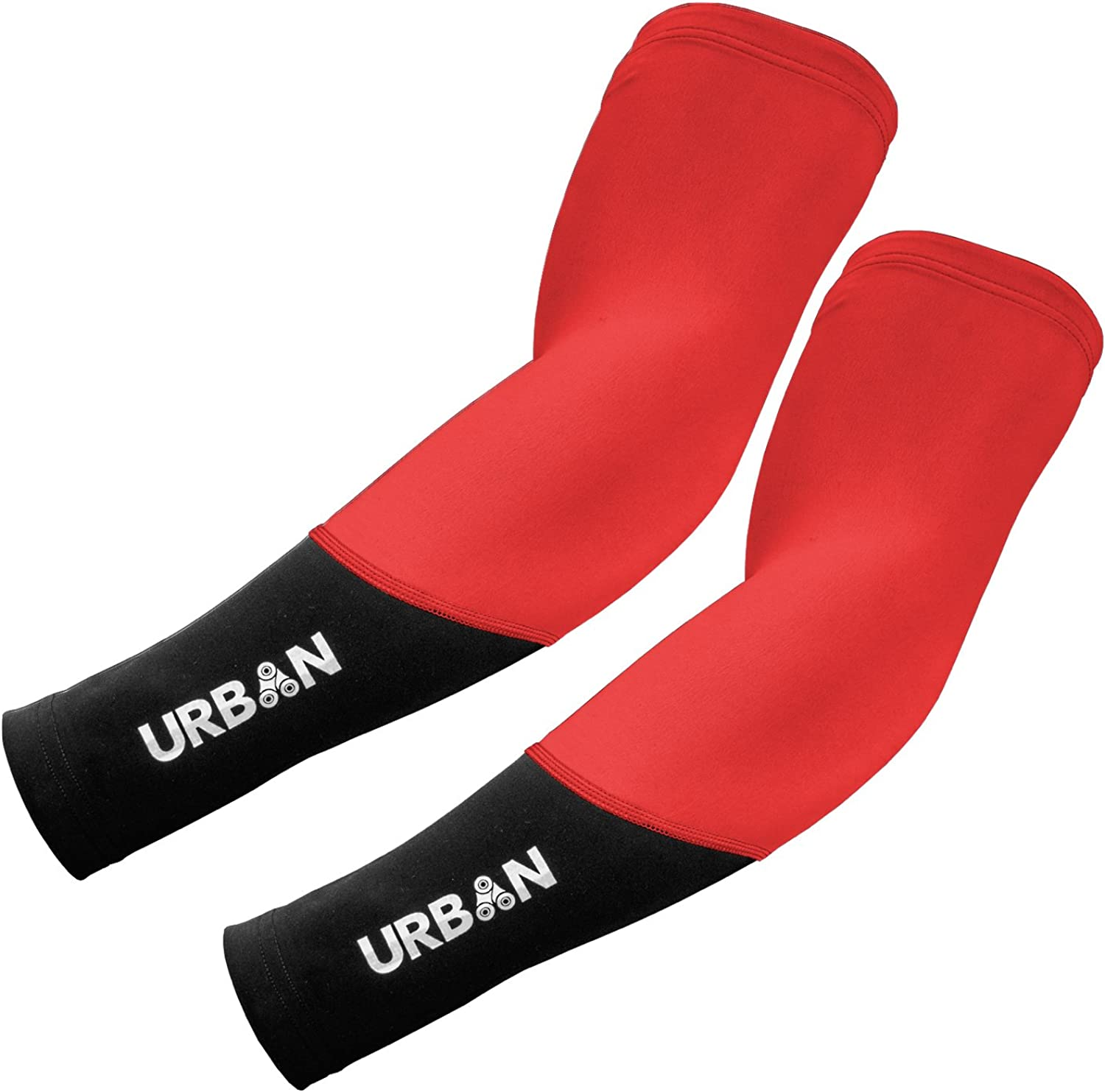 Urban Cycling DUAL SERIES Thermal Arm Sleeve Warmers (pair): Clothing