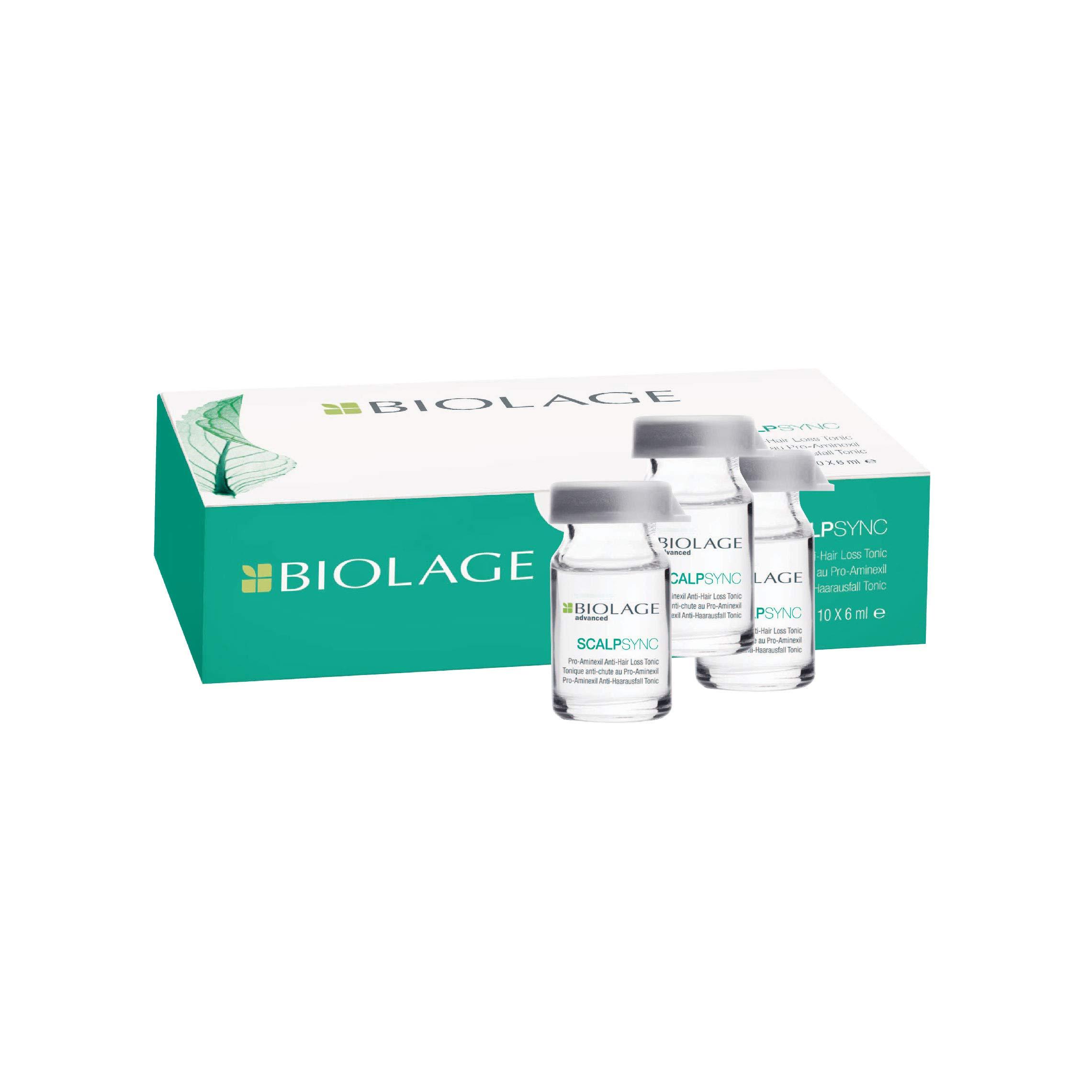 Matrix Biolage ScalpSync Aminexil Hair Treatment 10 Ampoules, 60 ml