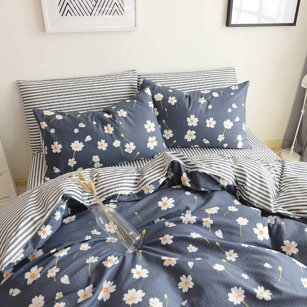 Duvet Cover Queen Lowest price challenge Floral Bedding OFFer Full Sateen Cotton Sets