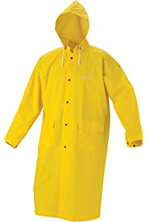 Amazon.com: Heavy Duty Raincoat (Large) (PVC Coated Polyester) 60 ...