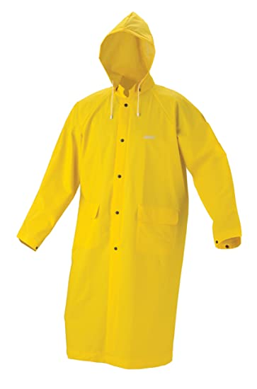 Amazon.com : Coleman Industrial 30mm PVC Raincoat, Yellow, Large ...